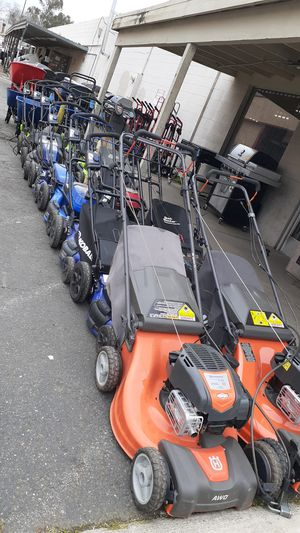 Gas and electric powered Lawn equipment for Sale in Sacramento, CA