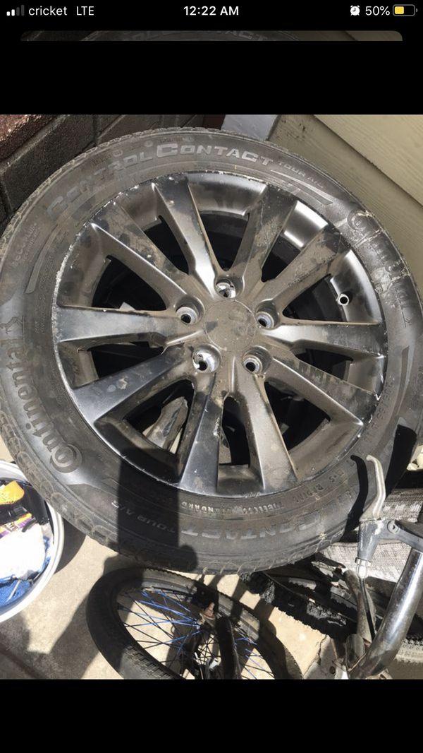 Tires/wheels