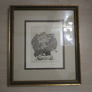 Two Vintage Jewish Wall Art Melchi Hundler Artist for Sale in Rosemead, CA