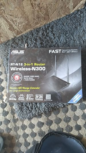 ASUS 3in1 wireless N300 router for Sale in Sacramento, CA