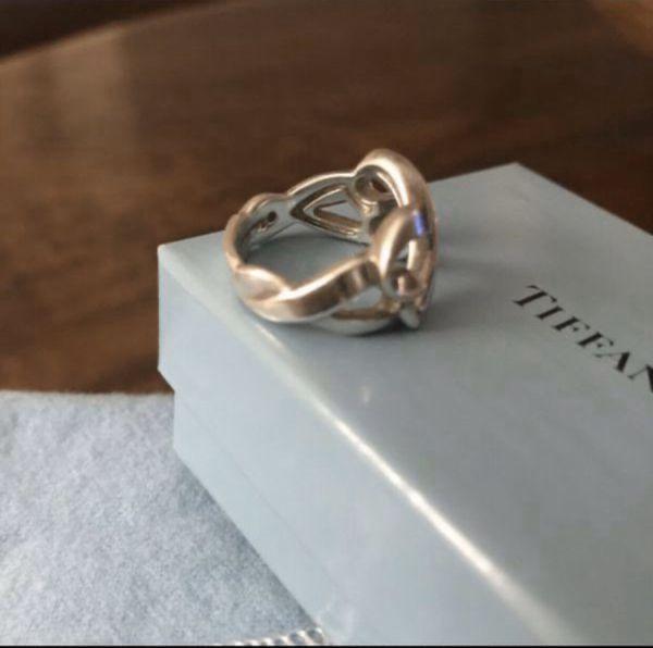 Tiffany & Co Paloma Picasso Double Heart Ring
