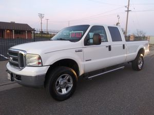 2007 FORD F350 FX4 4X4 CREW CAB LONG BED 6.0 DIESEL PICKUP TRUCK for Sale in Modesto, CA