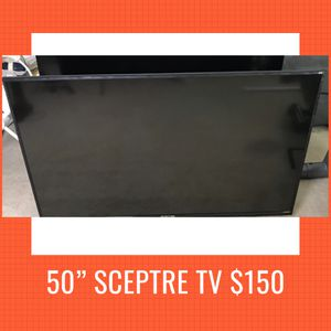 50 Inch SCEPTRE TV for Sale in Chester, VA