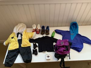 American Girl Doll outdoorsy clothes for Sale in Irvine, CA