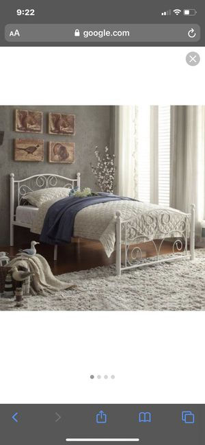 Twin Size Bed, Mattress, & Box Spring for Sale in Newport News, VA