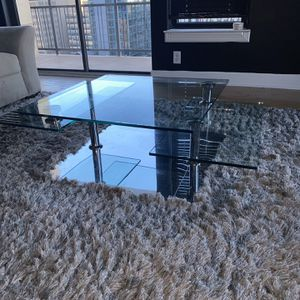 Adjustable Glass Coffee Table for Sale in Atlanta, GA