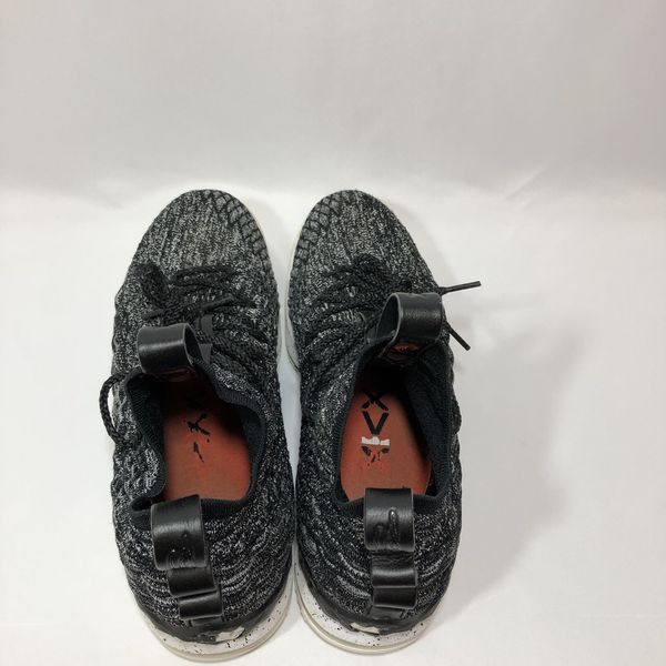 34129ffc401c Nike Lebron James XV 15 Ashes Gray Black Oreo 897648-002 for Sale in ...