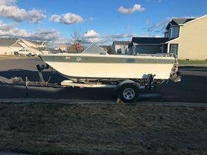 Boat and trailer for Sale in Spokane, WA
