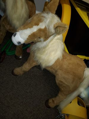 Extremely rare huge furreal friends butterscotch pony for Sale in Plainfield, IL