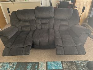 Ashley Furniture Couch & Recliner for Sale in San Jose, CA
