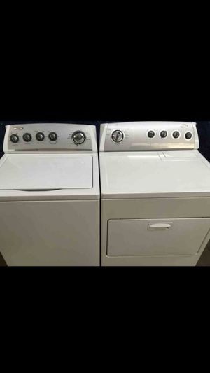 Like NEW Kenmore heavy duty super capacity matcging set : Electric Washer and Electric Dryer for Sale in Lansing, IL