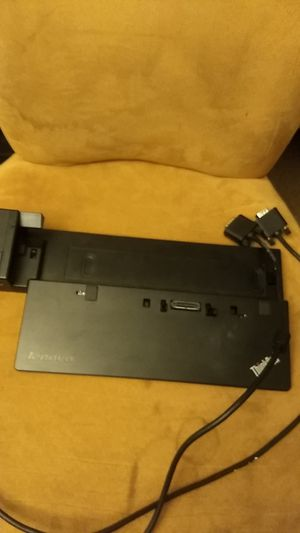 Think pad deskpad for lenovo laptop with wire for Sale in Bellevue, WA