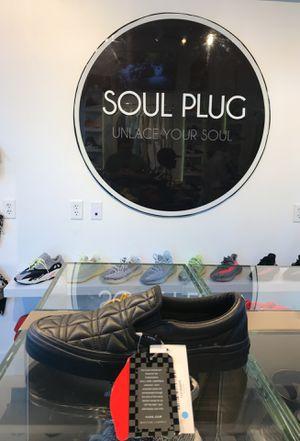 Vans Karl Lagerfeld Slip On Black for Sale in Miami, FL