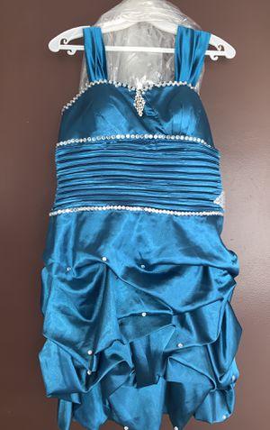short blue prom dress for Sale in Detroit, MI