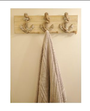 3 anchor jacket/ towel hook for Sale in San Leandro, CA