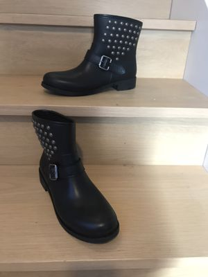 Pollini rain boots size 8 for Sale in Westwood, MA