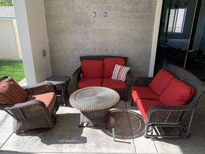 5 piece outdoor furniture set for Sale in Rancho Cordova, CA