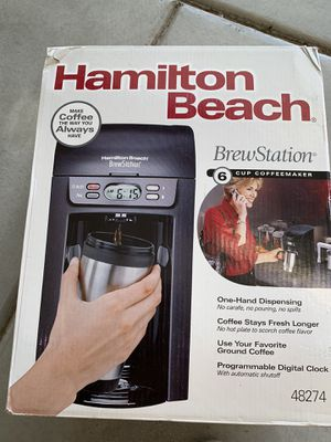 Hamilton Beach Brewer station coffee for Sale in Adelanto, CA