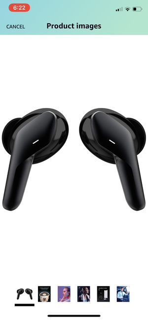 isooco Wireless Earbuds Headphones Bluetooth 5.0 in Ear with True Wireless Stereo Mic Headset Charging Case, for iPhone 11 Pro Max/Xs Max and More for Sale in Brooklyn, NY
