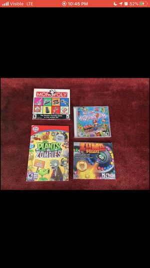 New PC Games (Rated E) *For Sale $15* for Sale in Wichita, KS