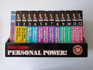 Tony Robbins Personal Power Course for Sale in Saginaw, MI