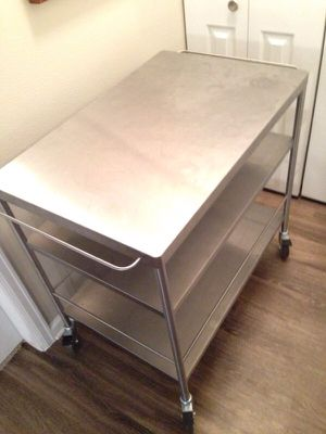 Kitchen Utility cart / island on casters for Sale in Denver, CO