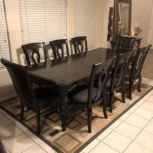 96inch Elegant Solid Wood Dining set for Sale in Las Vegas, NV