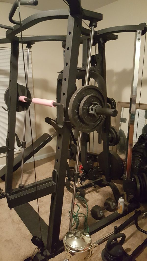 Exercise equipment Smith machine