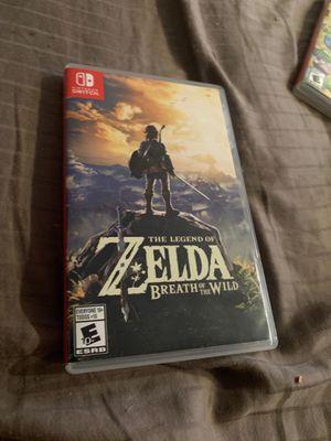 Nintendo Switch The Legend of Zelda Breath of the Wild for Sale in Pompano Beach, FL