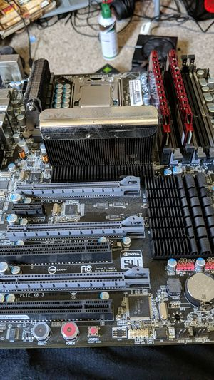 X58 ftw mobo for Sale in Aberdeen, WA