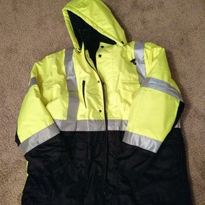 Safety Jacket (High Vis Yellow) for Sale in Wheaton, IL