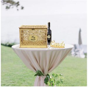 Gold Wedding Card Box for Wedding Reception for Sale in Fontana, CA
