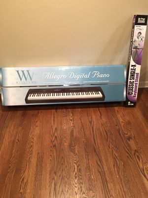 Allegro Digital Piano with classic keyboard stand for Sale in Austin, TX