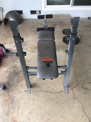 Weider Weight Bench for Sale in Chico, CA