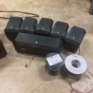 Satellite Speakers And Broken Receiver for Sale in Laurel, MD