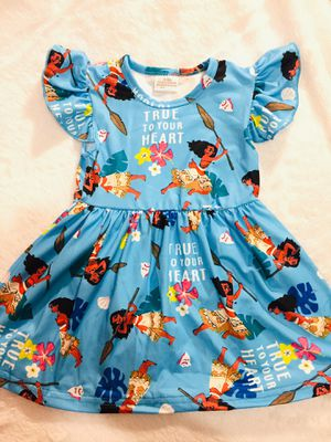 9mo moana dress for Sale in National City, CA