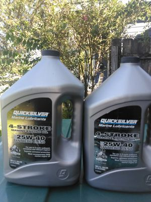 4 stroke marine engine oil for Sale in Beaumont, TX