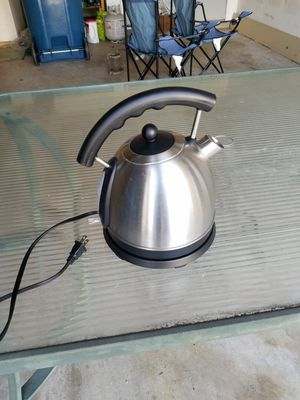 Electric kettle for Sale in Ashburn, VA