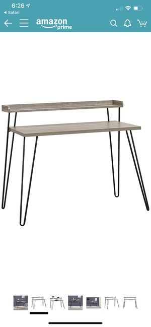 Desk with riser for Sale in West Valley City, UT