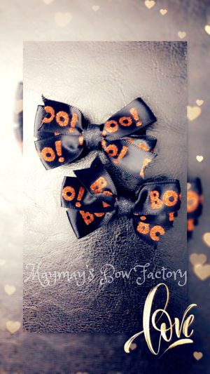 Halloween bows for Sale in Crosby, TX