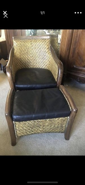 Wicker club chair ...great quality for Sale in Nashville, TN
