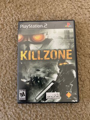 Kill zone PS2 for Sale in Gilroy, CA