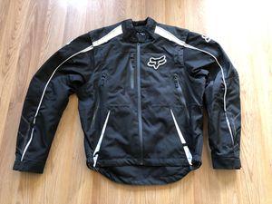 FOX 360 Black Motorcycle Jacket (Medium) for Sale in Pico Rivera, CA