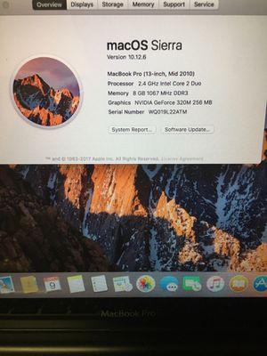 MacBook Pro ( 13 inch, Mid 2010) for Sale in Phoenix, AZ