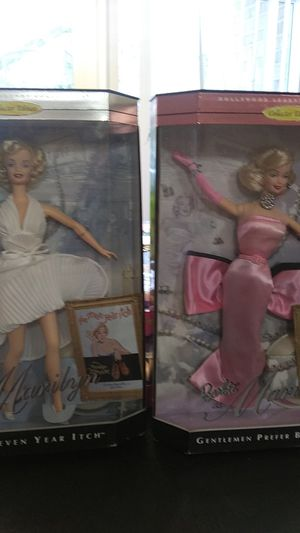 Vendor 2 Barbie as Marilyn Monroe collection for Sale in Aspen Hill, MD