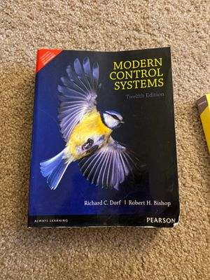 Book Modern Control Systems for Sale in Austin, TX