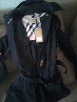 Burberry Woman's Jacket: Brand New for Sale in Highland, CA