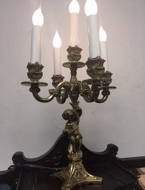 Beautiful antique candelabra lamp for Sale in Sacramento, CA