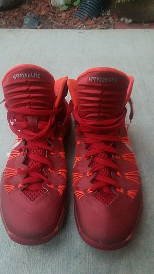 Red Nikes 10 1/2 for Sale in Sanger, CA