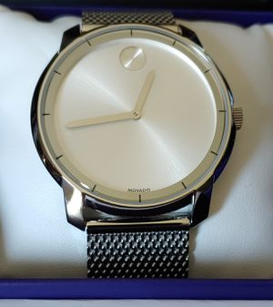 NWT Movado BOLD 44mm Men's Mesh Stainless Steel Watch for Sale in Carlsbad, CA